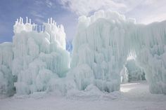 Midway Ice Castles is a Landmark in UT. Plan your road trip to Midway Ice Castles in UT with Roadtrippers. Day Trips Near Me, Ice Castles, How To Make Snow, Snow And Ice, Winter House, Best Places To Travel, Months In A Year, Wisconsin, Utah