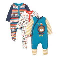 Mock Top and Jogger All In One with Hat - all in ones - Mothercare