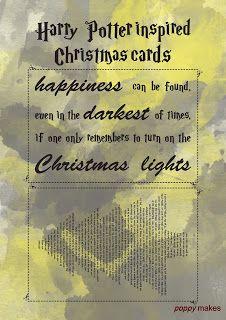 Poppy Makes #PoppyMakes #DIY #Craft #Crafting #DoItYourself #FREE #Printable #Template #HappyHolidays #MerryChristmas #FeliceNavidad #Xmas #Christmas #ChristmasCards #HarryPotterChristmasCard #HarryPotterQuote #HarryPotter #HP #Ron #Hermione #Dumbledore #Dobby #Hogwarts #Books #Nerds #Geek #12DaysTillChristmas #LinkInBio #Follow #Like