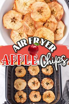 Chips Calories, Air Frier Recipes, Quick Easy Desserts, Apple Chips, Snack Recipes, Snacks, Tasty, Yummy Food, Food And Drink
