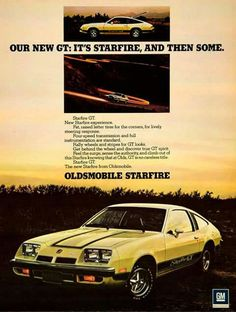 Olds Starfire... find one now.