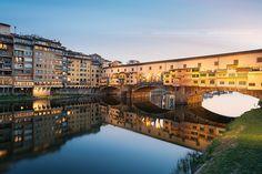 """Ponte Vecchio, Florence, Italy  """"andrei sul Ponte Vecchio, ma per buttarmi in Arno!"""" O mio babbino caro ;)"""