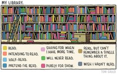 Simplify your books. Here's a fun visual guide on what to let go of. -Danny