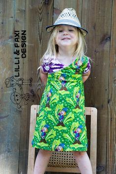 Lilli & Faxi Design: Hey Hey Wickie... Shirt oder Kleid Mini by #allerlieblichst