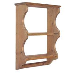 Penny Pine Exmoor Shelf Kitchen Stuff, Kitchen Ideas, Pine Kitchen, Victorian Kitchen, Plate Racks, Rack Shelf, Wooden Walls, Wall Shelves, Kitchenware