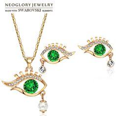 Vind meer sieraden sets informatie over Neoglory Oostenrijk Rhinestone &…