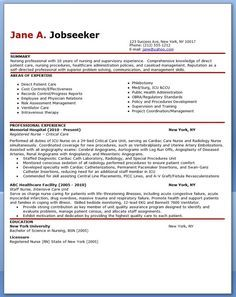 Clinical Experience On Nursing Resume  Google Search  Nursing
