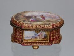 Vincennes Small Jewel Chest 1753 Louis Xv