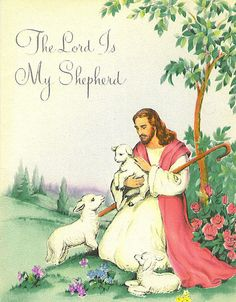 The Lord Is My Shepherd card by Tommer G, via Flickr