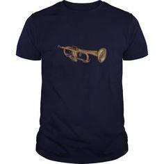Trumpet Musician T shirt for trumpeter  jazz trumpet & other varieties