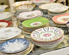 Vintage dishes - blossom events