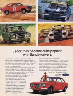 1971 Ford Escort Great cars from the 60's -70's check out the workshop manual eBay. C1967 FORD ESCORT MEXICO RS 1600 & 1100, 1300 GT WORKSHOP MANUAL