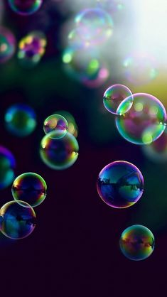 Bubbles make my day they make me happy and fill me with JOY!!