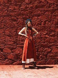 A Nomad in Tibet - Vogue Korea July 2014