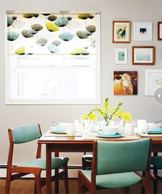 interiors fresh and playful colorful dining roomsmodern - Colorful Modern Dining Room