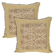 Throw Pillow Covers Silk Indian Decorations Home Set of 2 Pcs. Sofa Cushion Covers, Throw Pillow Covers, Throw Pillows, Pattern Fashion, Cushions, Fancy, Decorations, Indian, Silk