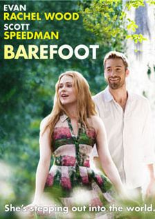 """Barefoot on DVD April 2014 starring Evan Rachel Wood, Scott Speedman, J. The """"black sheep"""" son (Scott Speedman) of a wealthy family meets a free-spirited, but sheltered woman (Evan Rachel Wood). To convince his fa Films Étrangers, Comedy Movies, Hd Movies, Movies To Watch, Movies Online, Movies And Tv Shows, Netflix Movies, Evan Rachel Wood, Book Series"""
