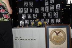 Class Reunion Table Decorations – Memorial Wall