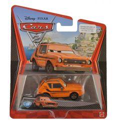 Cars Grem is de #13 uit de collectie van Pixar Cars 2 autootjes. Grem behoort tot de minors, de fouten, in de Cars 2 film. Leuk om te kijken en leuk om daarna de Cars 2 autootjes te sparen. Dat kan bij Speelgoedvallei.nl!