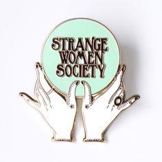 Image of Strange Women Society Initiation Pin