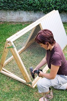 A Frame Chicken Coop, Backyard Chicken Coop Plans, Chicken Shed, Chicken Coop Pallets, Small Chicken Coops, Chicken Cages, Chicken Coop Designs, Backyard Poultry, Chicken Tractors