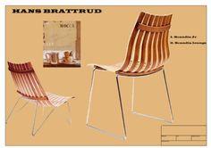 1957 bare 24 år gammel tegnet Hans Bratterud Skandia-stolen