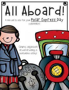 Freebie Polar Express worksheets/activities