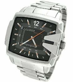 Diesel Men's DZ1497 Not So Basic Basic Silver Watch Diesel. $111.54. Durable mineral crystal protects watch from scratches,. Stainless steel. Band circumference: 200mm. 3 hand analog watch. Water-resistant to 10 M (33 feet)