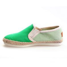 GREEN UNIVERSITY ROPE SOLE WOMENS WOMENS SHOES