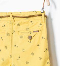 ZARA的图片 4 名称 彩色百慕達短褲