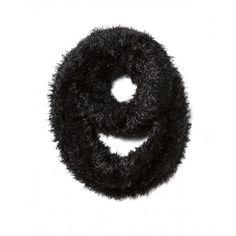 Collo, doppio giro in maglia, soft touch.6GOED51KQ black