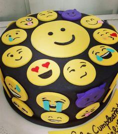 Torta Emoticones