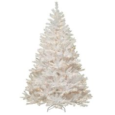 National Tree Company 7 ft. Winchester White Pine Artificial Christmas Tree with Clear Lights