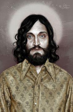 Portrait Illustrations by Marco Calcinaro
