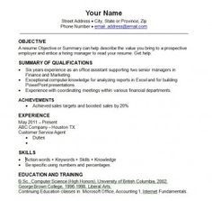 best resume templates 2013 2014