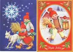 Lars Carlsson Christmas Cards, Merry Christmas, All Holidays, Beautiful Christmas, Picture Quotes, Elves, Gnomes, Troll, Paper Dolls