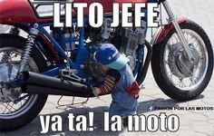 Imagenes comicas: Lito, ya está la moto! →  #Fotosgraciosas #Imagenescomicas #Imagenesconhumor #imagenesdivertidas #imagenesgraciosas