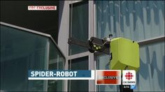 New Robot Could End High Rise Glass Problems