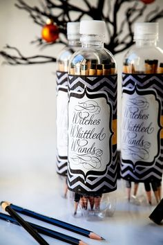 Halloween party favors. Pencils instead of candy.