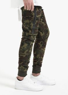 Tech Fleece Pant Camo Sequoia