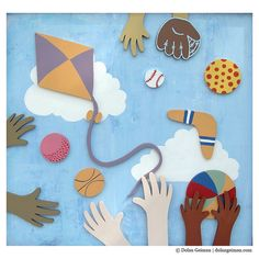 Things we covet: This artistic piece commissioned by Dolan Geiman for Cooks Children's Hospital.