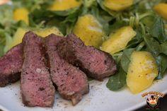 T-Bone Steak an Mango-Feldsalat | BBQ-Hannover