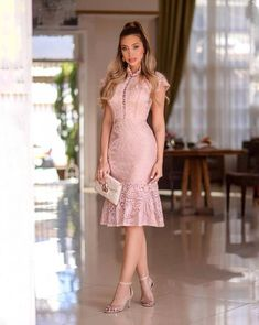 Mother Daughter Fashion, Dress Outfits, Fashion Outfits, Fashion Clothes, Lace Top Dress, Cocktail Attire, Frocks For Girls, Latest African Fashion Dresses, Batik Dress