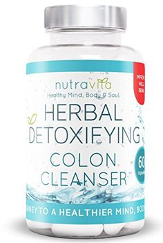 Nutravita Natural Colon Cleanser/ Herbal Detox – Manage Weight Loss & Promote Regularity – 60 Capsules - http://vitamins-minerals-supplements.co.uk/product/nutravita-natural-colon-cleanser-herbal-detox-manage-weight-loss-promote-regularity-60-capsules/