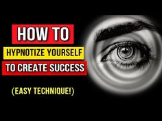 Hypnotize Yourself: How to Use Self Hypnosis to Create Success & Abundance Effortlessly! (Manifest) - YouTube Train Your Brain, How To Train Your, Job Application Cover Letter, Hypnotize Yourself, Motivational Videos, Law Of Attraction, Being Used, Abundance, Awakening