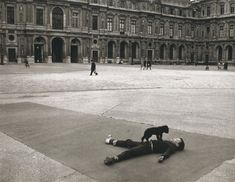 The Cour Carrée at the Louvre  Robert Doisneau, 1969