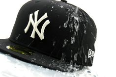 Just the basic 59FIFTY New York Yankees Fitted Cap by New Era in black. They 4f038ac8f437