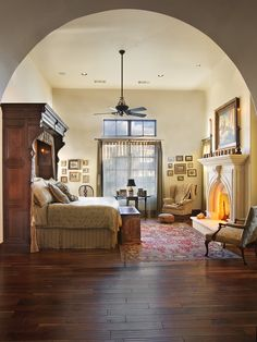 Mediterranean Bedroom Design, Pictures, Remodel, Decor and Ideas - page 2