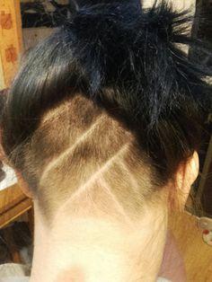 My new hair #undercut #women