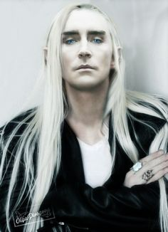 Lee Pace king — Happy holidays!